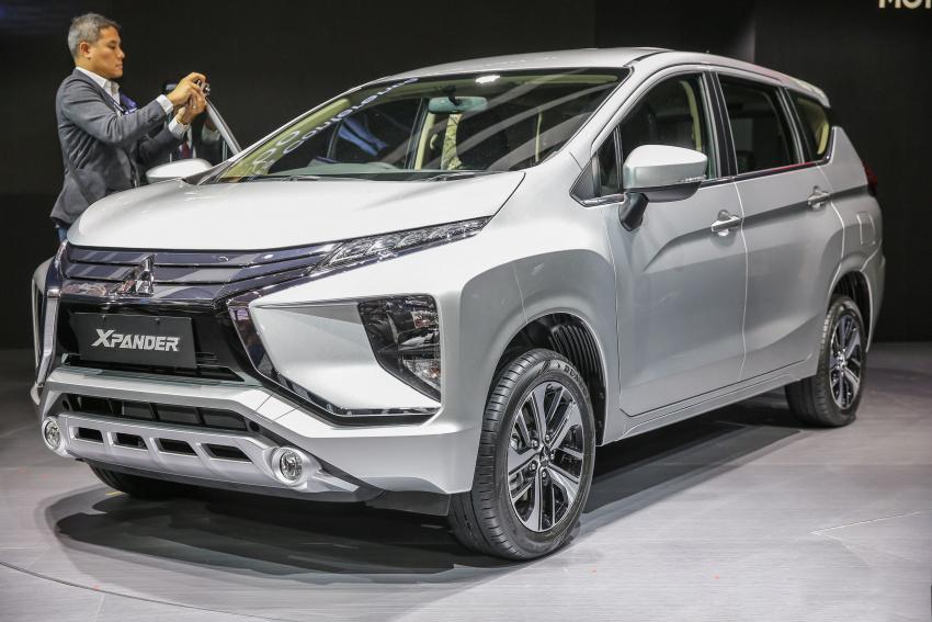 Xpander 2018, mẫu xe gia đình mới nhất của Mitsubishi
