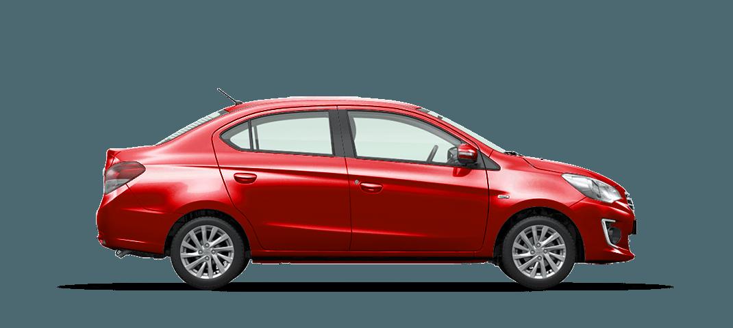 Mitsubishi Attrage CVT nổi bật với kiểu dáng năng động
