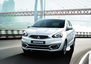 Mitsubishi mirage chính hãng
