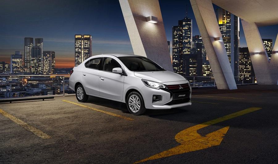 Mitsubishi Attrage 2020 hướng dẫn điều chỉnh gương xe