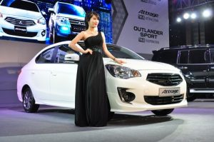 Mitsubishi Attrage CVT